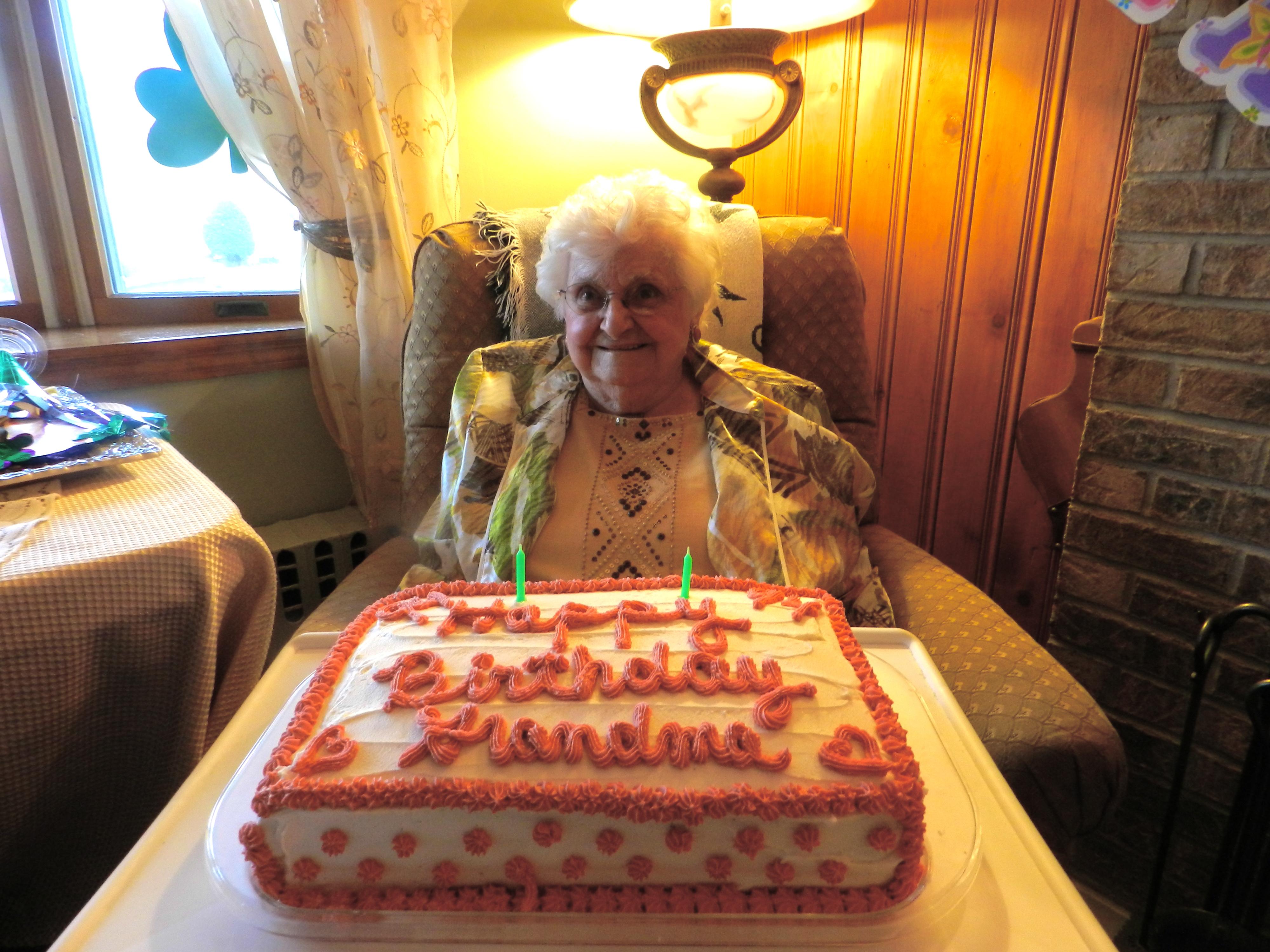 My Grandma On Her 94th Birthday