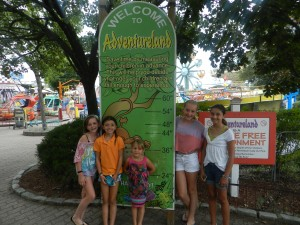 Summer Is Not Over Yet... Adventureland Fun!