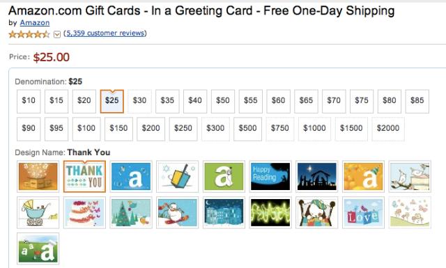 Amazon Card 3