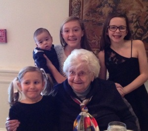 Grandma going strong at 94!
