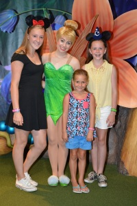 Tinkerbell at Magic Kingdom